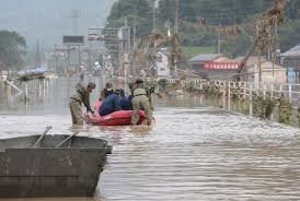 Devastating Japan floods kill dozens