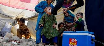 Anti-Polio drive begins in 21 districts of KP