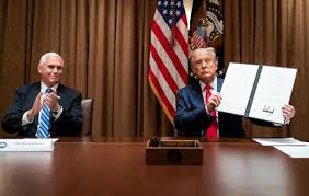 Trump signs executive order to ban Federal Agencies from hiring foreign workers over Americans