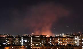 Israeli strikes on Syria k