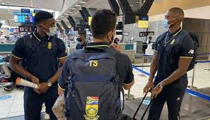 South African cricket squad arrives in Pakistan after 14 years