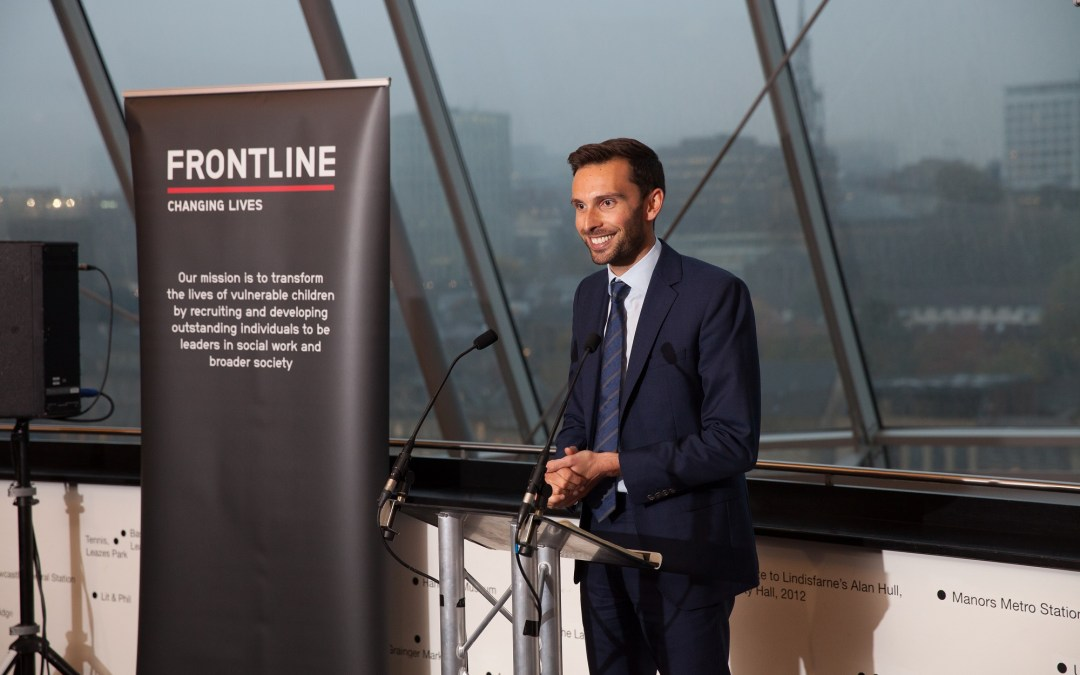 Josh MacAlister, Chief Executive: Frontline – Three years on