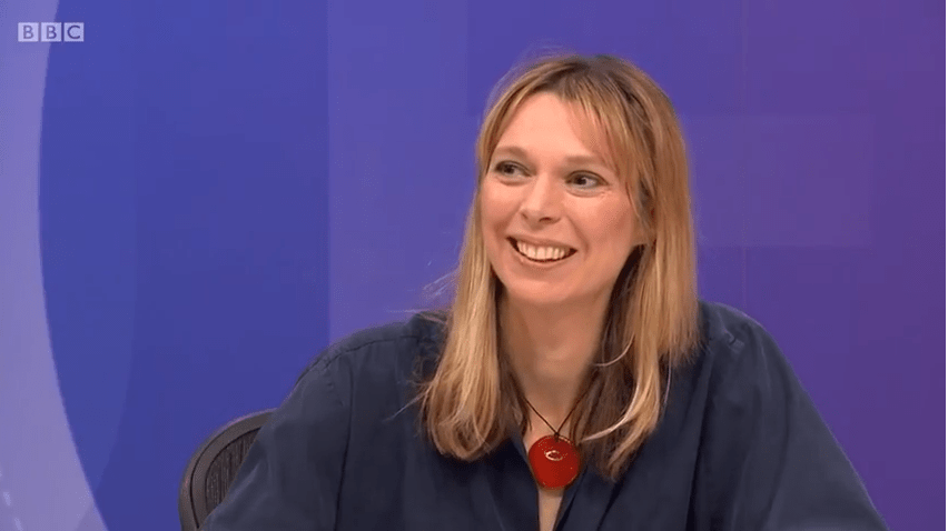 BBC Question Time features Frontline's Chair, Camilla Cavendish