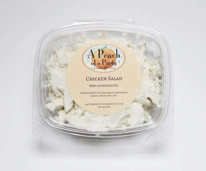 A Peach of a Party's Chicken Salad