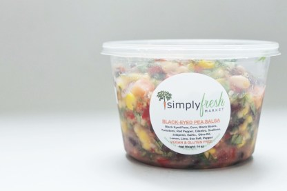 Simply Fresh's Black Eyed Pea Salsa