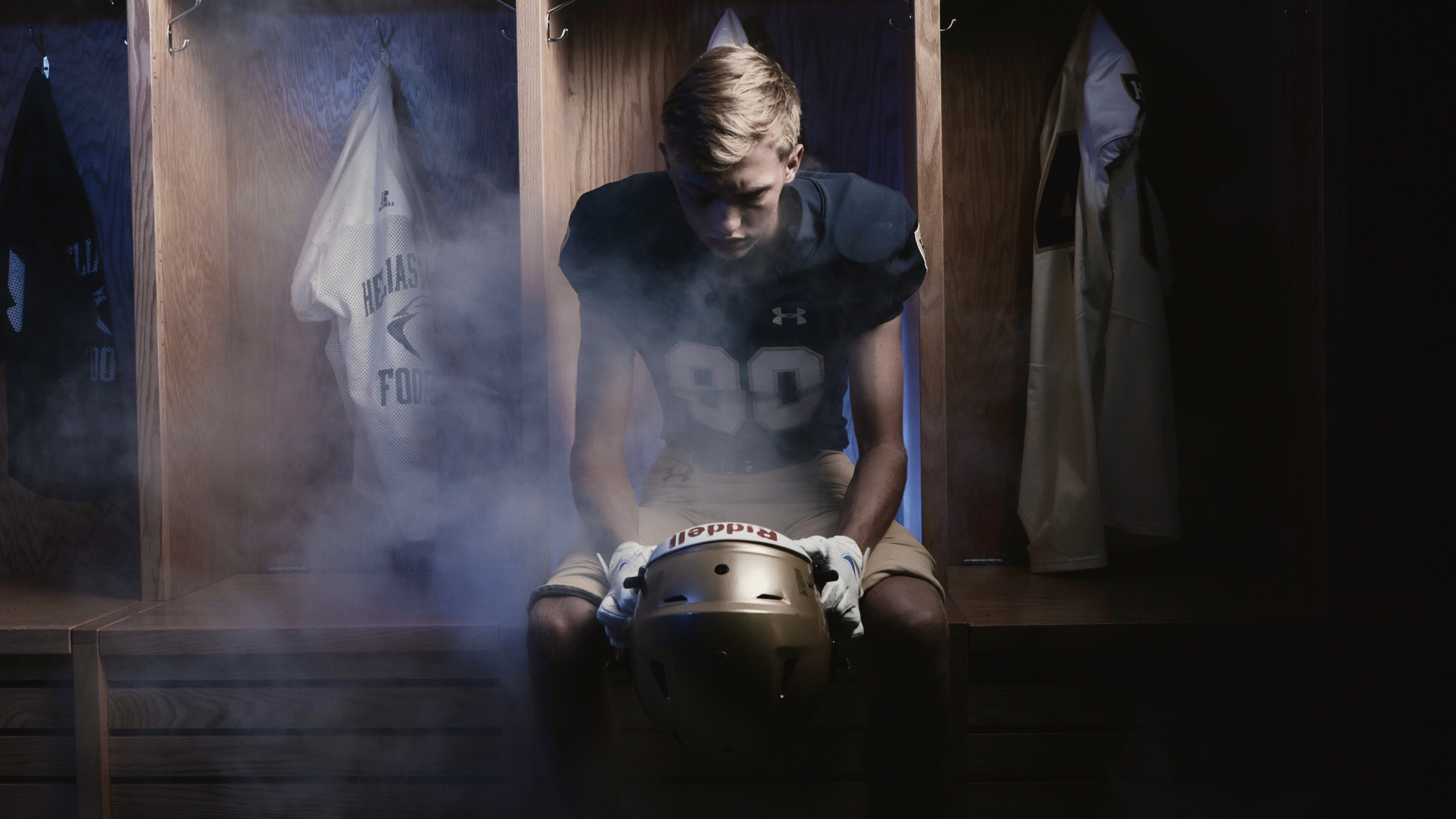 Football Hype Video Smoke