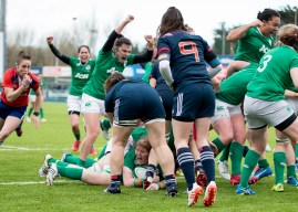 Ireland Women make it three from three.
