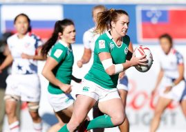 Mixed bag for Ireland Women on Day 1 of Las Vegas Sevens