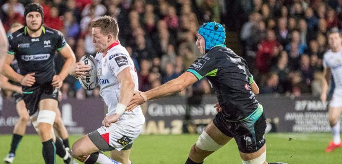 Teams up for Ospreys v Ulster