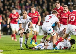 Teams up for Munster Rugby v Ulster Rugby
