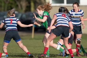 2017-01-08 Ballynahinch Women v Blackrock Women -- 15