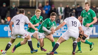 2017-03-17 Ireland U20s v England U20s (Six nations) -- 57