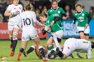 2017-03-17 Ireland Women v England Women (Six Nations) -- 20