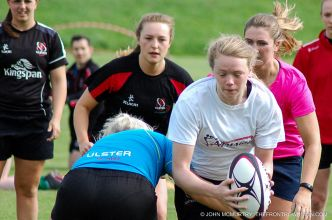 Ulster Women Training Session. 7th August 2016, Portadown Rugby Club