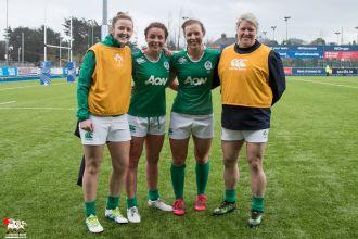 2017-02-26 Ireland Women v France Women (Six Nations) -- M83