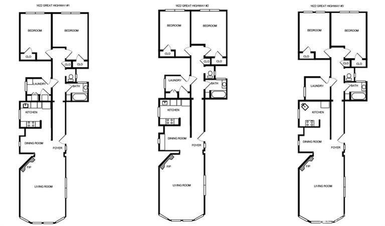 Great Highway Floorplan