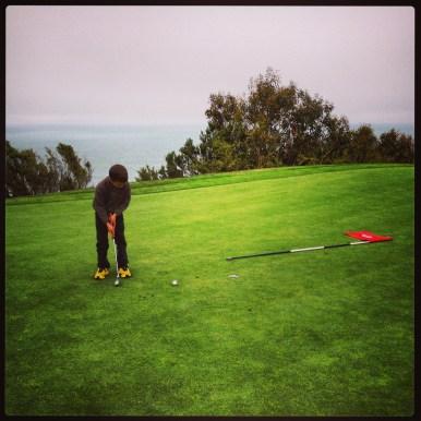 I golf