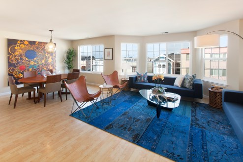 Large Open Living/Dining Room