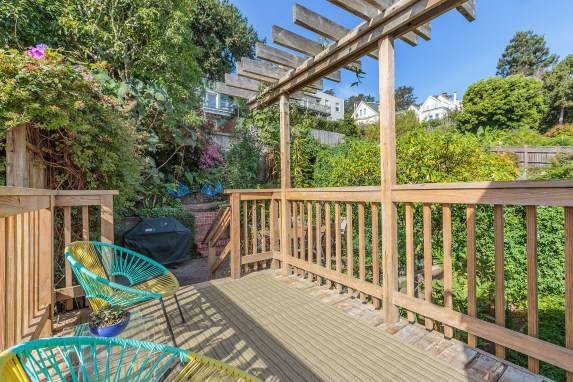 62 Buena Vista Terrace: Deeded Deck