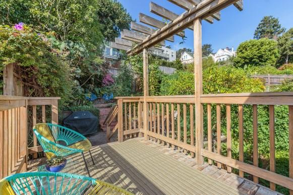 62 Buena Vista Terrace: Deeded Deck