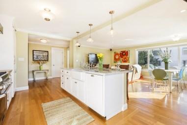 Open Kitchen/Living Area