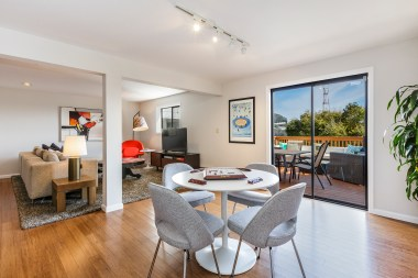 1972 11th Ave Bonus Living /Entertainment room w/ access to large view deck