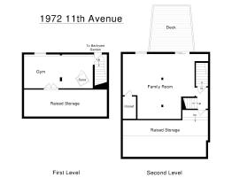 1972 11th Ave Lower Level Floorplans