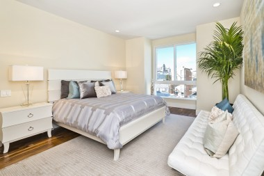 960 Harrison Master Bedroom