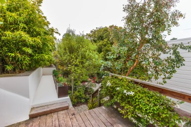 1957 11th Ave Deck off kitchen leads to garden