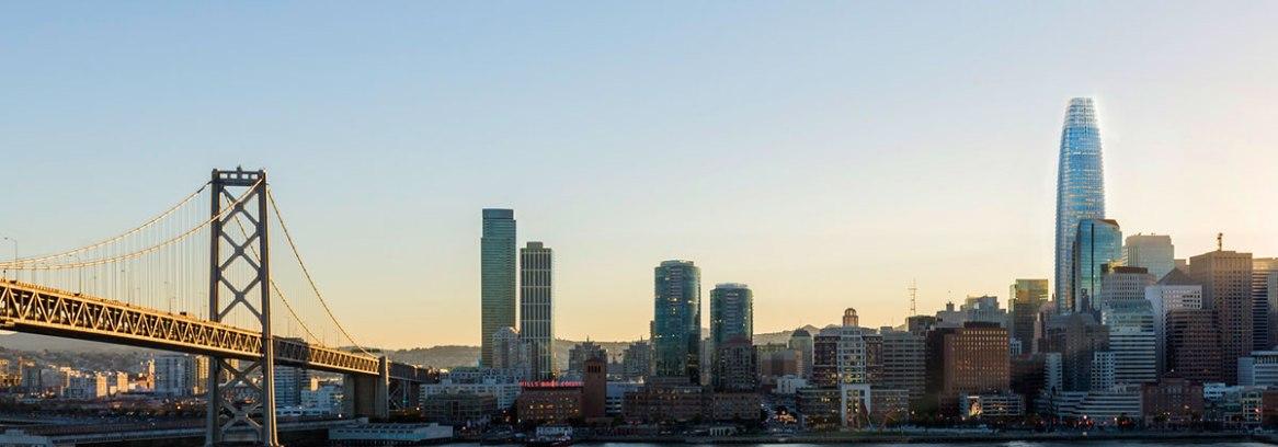 Skyline with Salesforce Tower