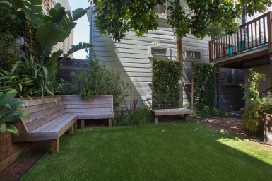 707 Cole St. | Landscaped Yard