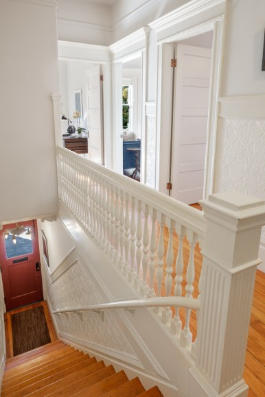 1662 Page St. Stairway
