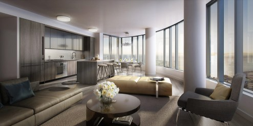 Sold $1,625,000 Luxury High Rise Condominium