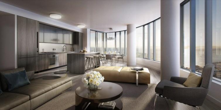 Sold $1,625,000 Luxury High Rise Condominium