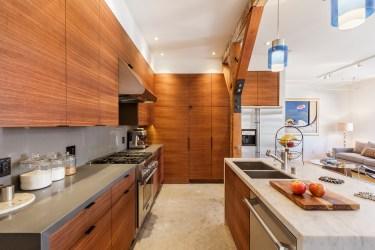 Box Factory Loft Remodeled Kitchen