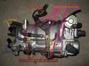 HowTo: EGR Removal VIIIIX (and charcoalEVAP canister)  EvolutionM  Mitsubishi Lancer and