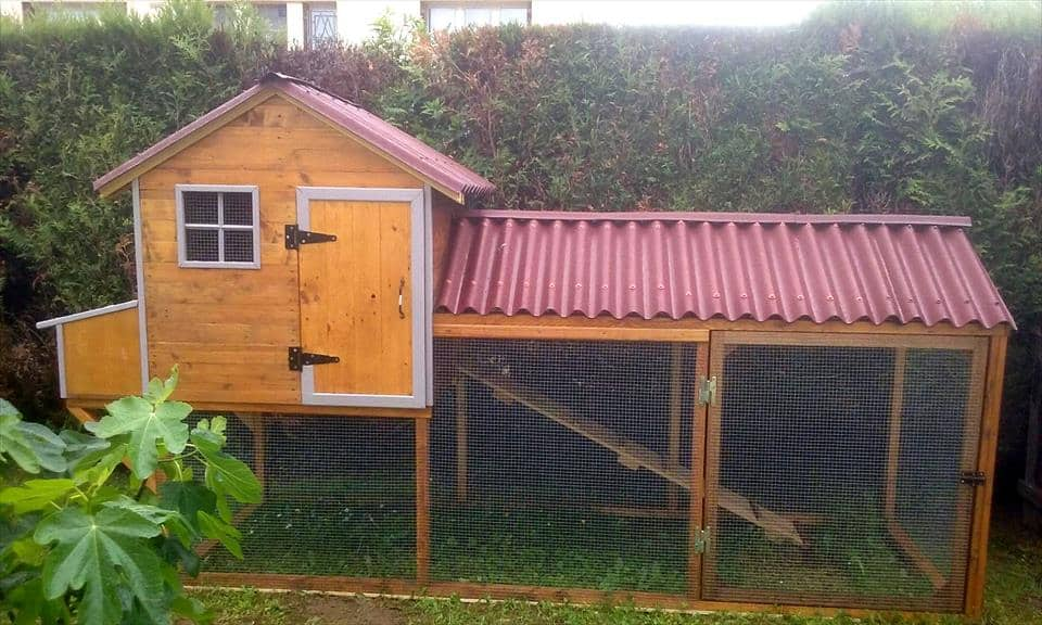 Chicken House 55+ diy chicken coop plans for free | frugal chicken