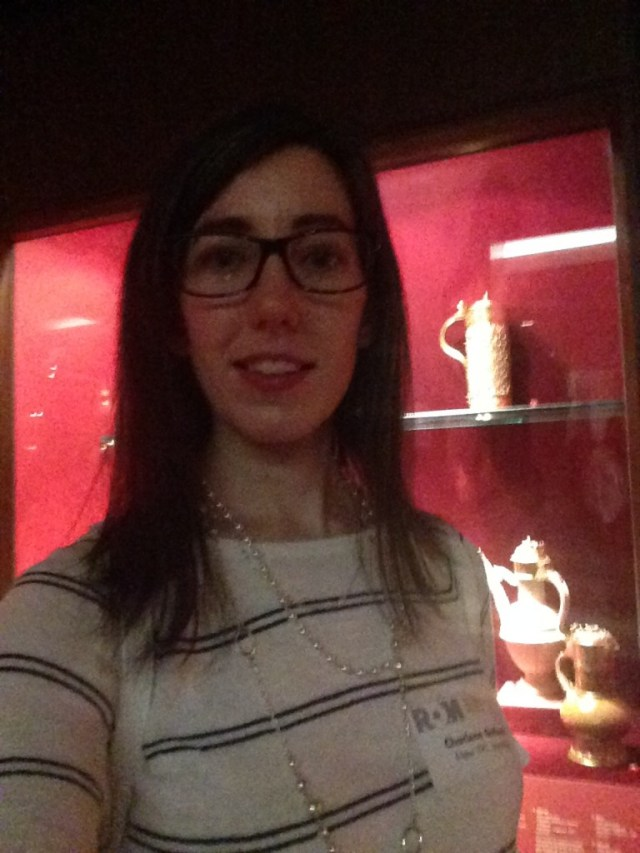 selfie, First Nations, Canadian Culture, Royal Ontario Museum, Vault Tour, Young Patrons Circle, ROM, YPC