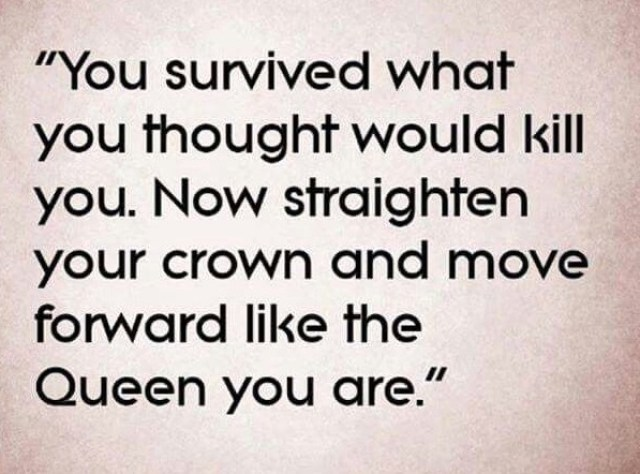 Straighten your crown like the Queen that you are