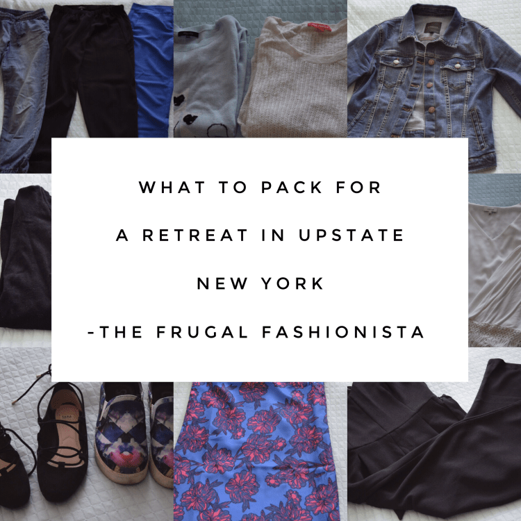 What to pack for a retreat in upstate new york