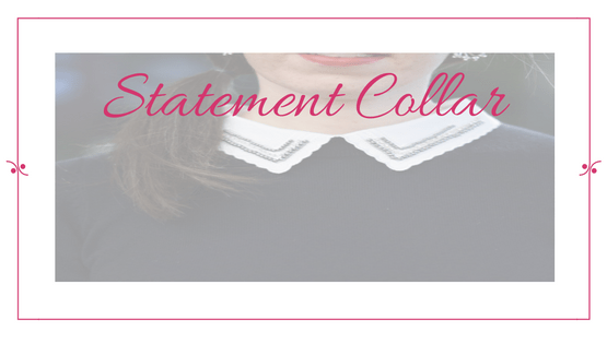 The Frugal Fashionista: Statement Collar
