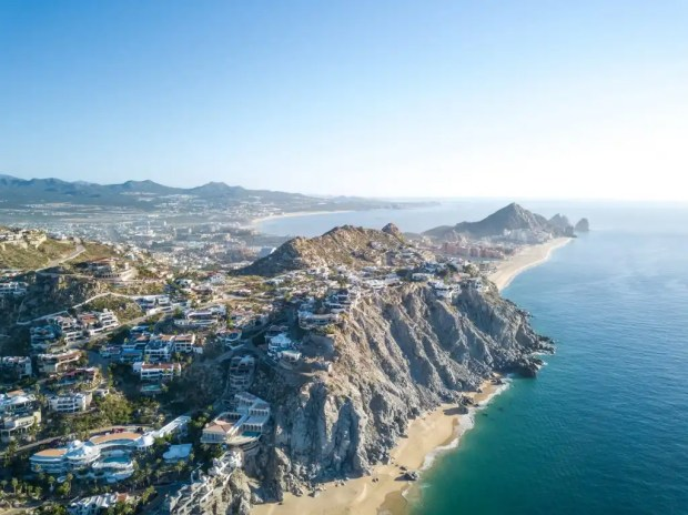 Andy used his credit card rewards to take a trip with his family to Cabo San Lucas.