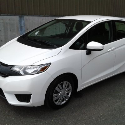 our honda fit cutie