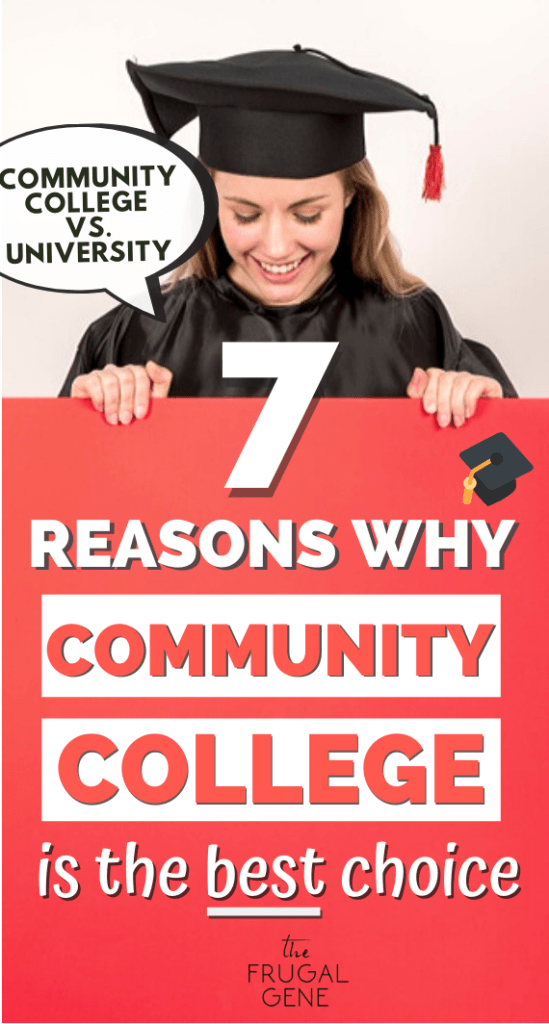 Boo I really wish I read this article back when I was a high school senior. -- #studentdebt #collegetips Here are 7 awesome benefits of going to a community college everyone forgets + famous college graduates. Don't be embarrassed going to community college. It's better to transfer to university later to save more money. Community college tips, benefits, vs university, freshman, education, life, transfer, campus, graduation, meme, truths, life, junior college, tips, prep, save money for college