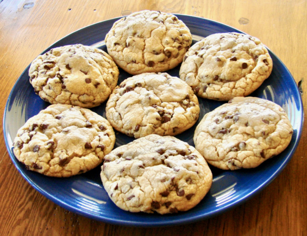 Chewy Jumbo Chocolate Chip Cookies Recipe Easy