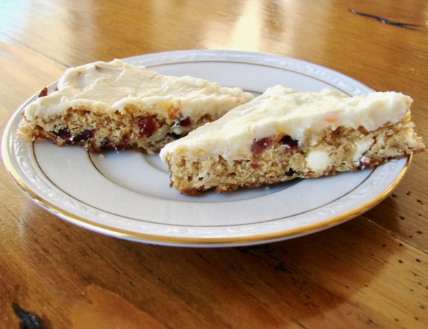 Cranberry Bliss Bars Recipe Easy