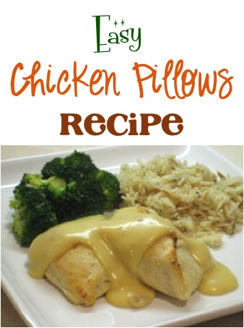 Easy Chicken Pillows Recipe