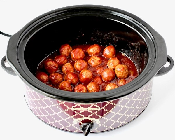 Crockpot Meatballs Cranberry Chili Sauce