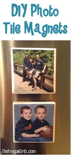 DIY Photo Tile Magnets