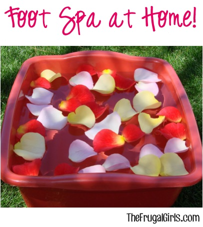 Foot Scrub and Soak Recipes from TheFrugalGirls.com
